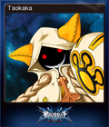 BlazBlue: Calamity Trigger Steam Trading Card 05