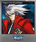 BlazBlue: Calamity Trigger Steam Trading Card Foil 01
