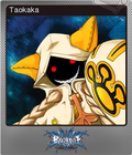 BlazBlue: Calamity Trigger Steam Trading Card Foil 05