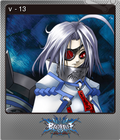 BlazBlue: Calamity Trigger Steam Trading Card Foil 09