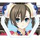 Hyperdevotion Noire: Goddess Black Heart Steam Badge 04