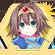 Hyperdevotion Noire: Goddess Black Heart Steam Badge Foil 01