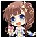 Hyperdevotion Noire: Goddess Black Heart Steam Emoticon 01
