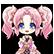 Hyperdevotion Noire: Goddess Black Heart Steam Emoticon 05