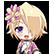 Hyperdevotion Noire: Goddess Black Heart Steam Emoticon 07