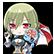 Hyperdevotion Noire: Goddess Black Heart Steam Emoticon 09