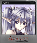 Agarest: Generations of War Steam Trading Card Foil 04