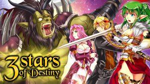 3 Stars of Destiny Steam Trading Card Artwork 05