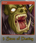 3 Stars of Destiny Steam Trading Card Foil 04