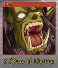 3 Stars of Destiny Steam Trading Card Foil 04