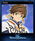 Tales of Zestiria Steam Trading Card 01
