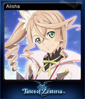 Tales of Zestiria Steam Trading Card 02