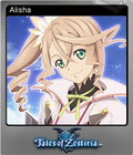 Tales of Zestiria Steam Foil Trading Card 02