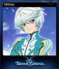 Tales of Zestiria Steam Trading Card 06