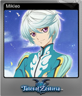 Tales of Zestiria Steam Foil Trading Card 06