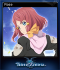 Tales of Zestiria Steam Trading Card 07