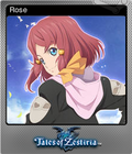 Tales of Zestiria Steam Foil Trading Card 07
